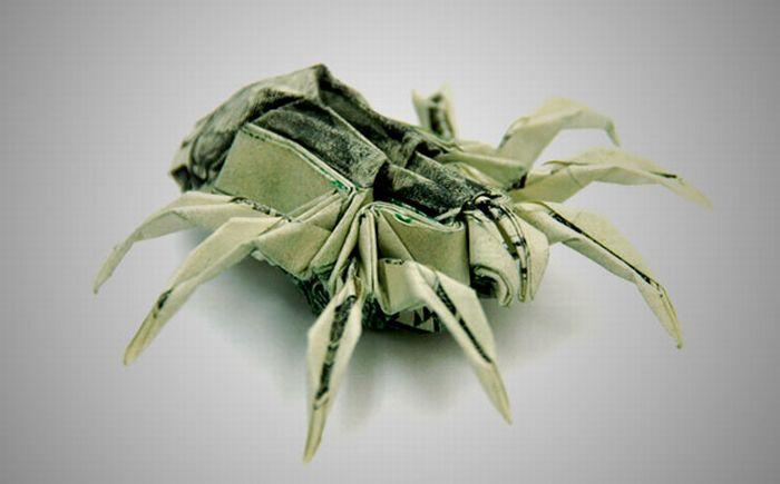 Money origami ~ LikePage - photo#36