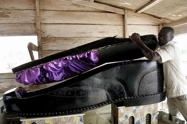 Fancy Coffins from Ghana
