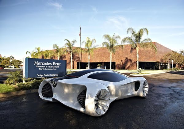 Biome Renewable Concept Car by Mercedes-Benz: 12