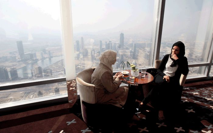 World's highest restaurant 'At.mosphere' opens in Burj Khalifa