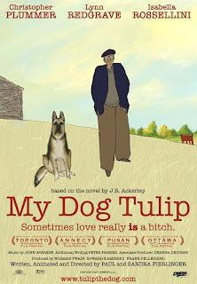 My Dog Tulip poster1 - La Academia ha hablado! Estos son los 15 filmes animados que hay que ver...