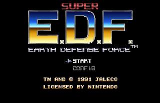 edf title - Un nuevo filme de Extraterrestres! Earth Defense Force.