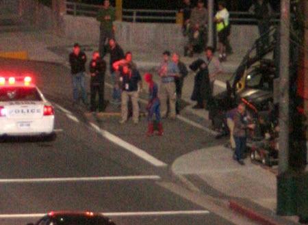 Spyder8 - Miren estás fotos de Spiderman en acción!!!