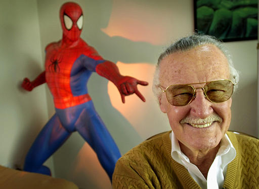stan lee - El cameo de Stan Lee en Spiderman!