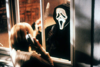 ghostface+scream - El poster de Scream 4 está para gritar!