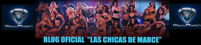 "Blog Oficial de las ""Bailarinas de ShowMatch"""