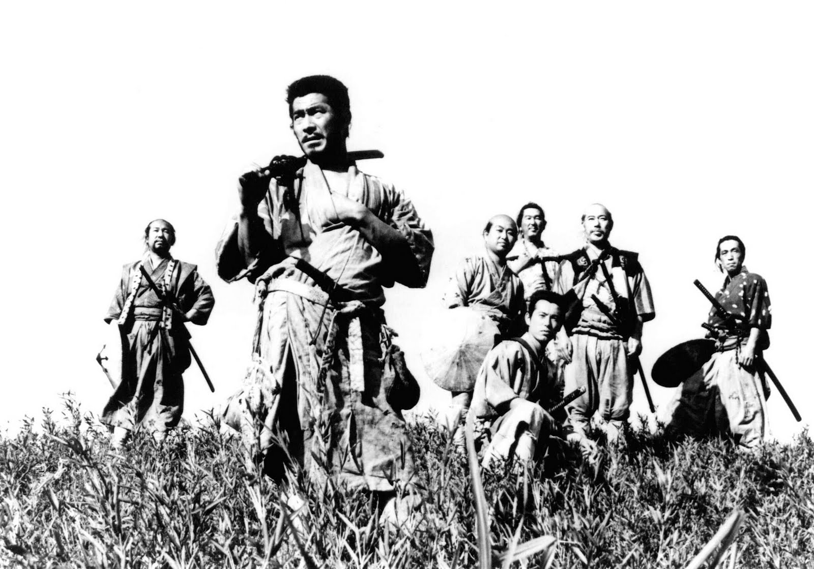 No tiene nada que ver con ciencia e historia, pero los siete samuráis molan. ¿Que no?