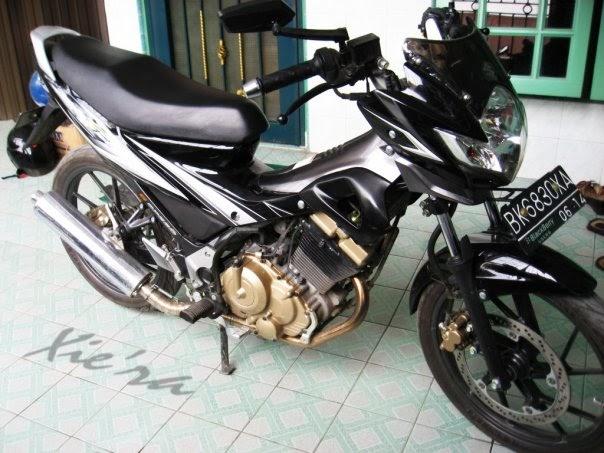 Modifikasi Motor: Modification Standart Suzuki Satria FU 125