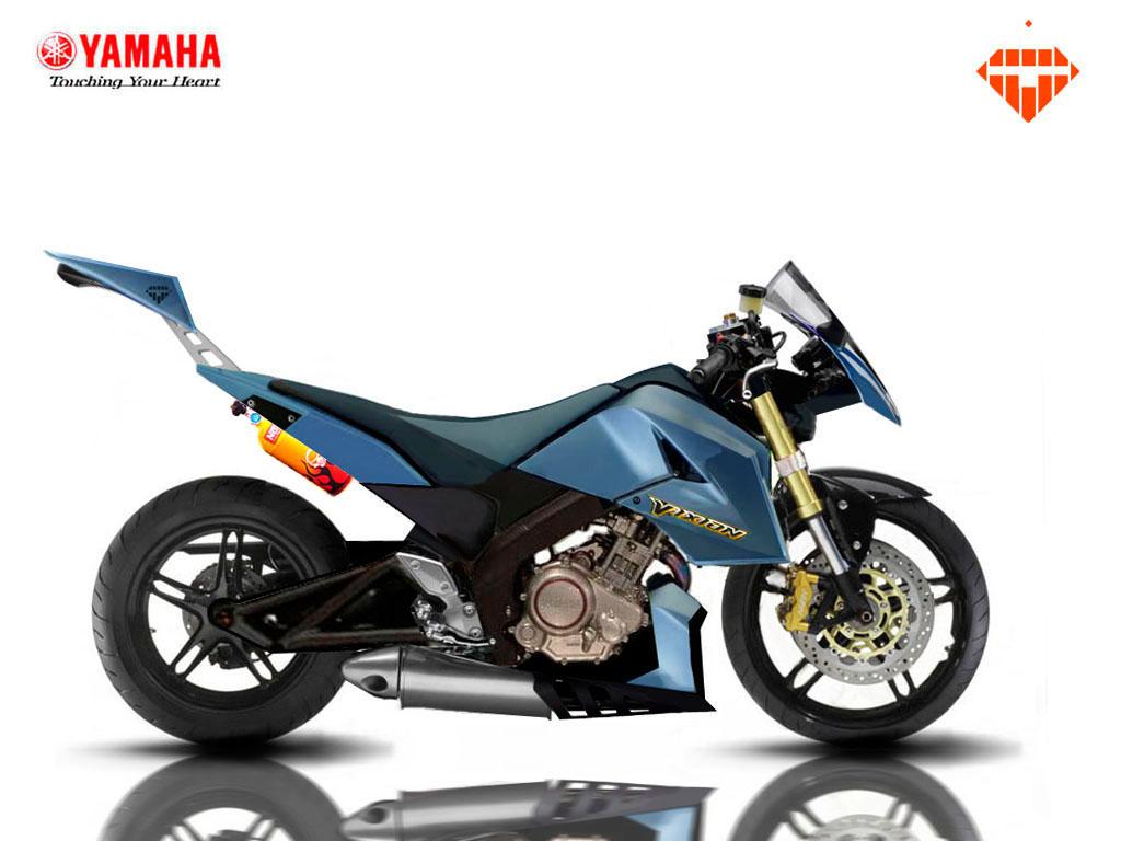44 Gambar Modifikasi Yamaha Vixion Terbaik Dan Terbaru 2017