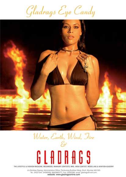 Gladrags bikini calendar