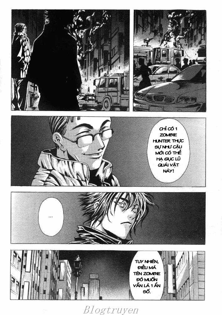 Zombie hunter chap 17 trang 22