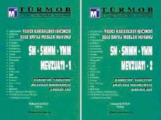 SM-SMMM-YMM Mevzuatı Cilt 1-2