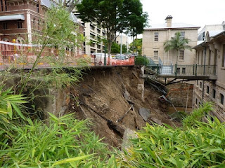 Commissariat Store flood damage, Brisbane, 2011.