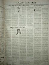 Crônicas na Gazeta Mercantil