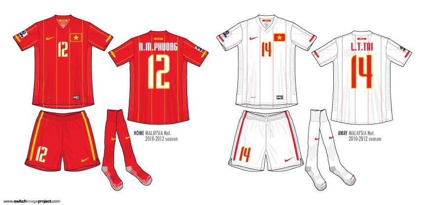 best website 7b1eb 48bca Football teams shirt and kits fan: Vietnam 2010-12 Home kits