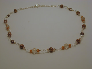Fields of Gold -- Necklace for Prosperity and Postitive Outlook