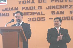 Juan Pablo Jiménez abandona cargo