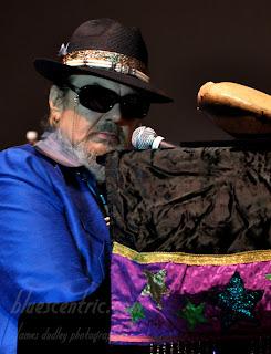 Dr. John at the King Biscuit Festival, 2010