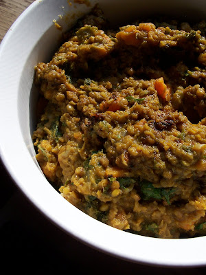 Yeah That Vegan Shit Curried Lentils With Sweet Potatoes And