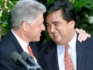 2000 Prez Bill CLinton and New  Mexico Gov Bill Richardson