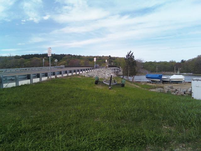 Parker River, Bridge, Newbury, Massachusetts, route 1A