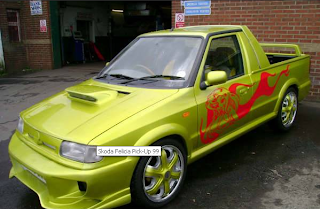 Sport Tuning Modified Car Skoda Felicia Pick Up 99