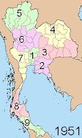 Regions as of 1955