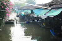 Rafts of the Taling Chan floating market