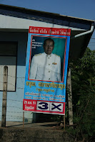 PAO election poster of list 3 in constituency 2 of Mueang district