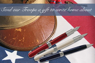 Send our Troops a Gift to Write Home About
