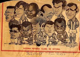 Resultado de imagen para caricatura de VITÓRIA F.C.