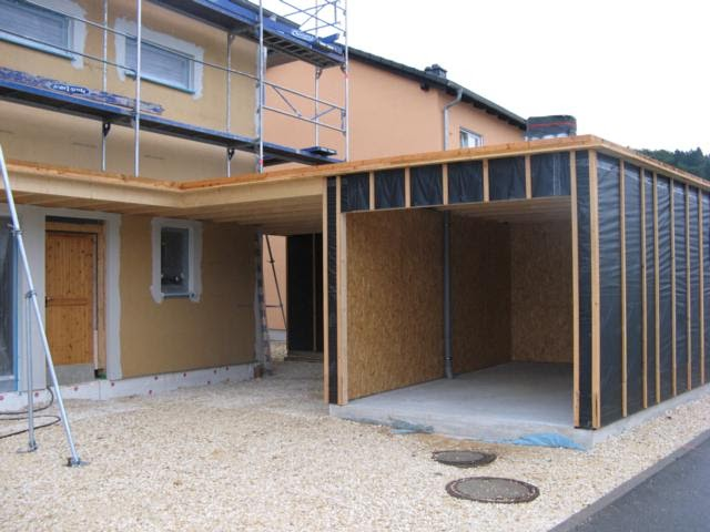 carport mit garage garagen carport kombinationen ott. Black Bedroom Furniture Sets. Home Design Ideas