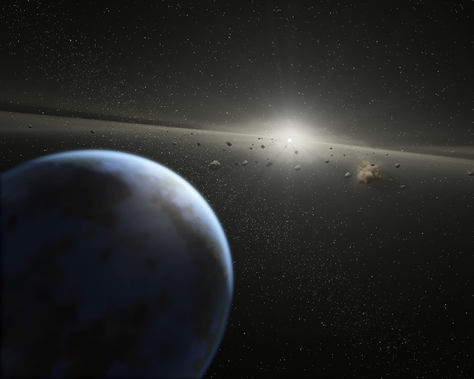 All Life Is Local: Two Asteroids Near Earth Today, Both ...