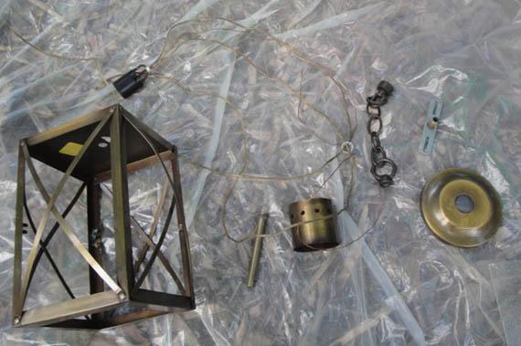 Pottery Barn Inspired Lantern From 5 Restore Light