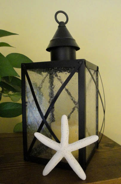 Pottery Barn Inspired Lantern