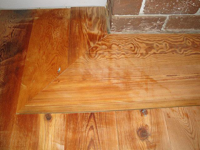 Remodelaholic  Installing Antique Heart Pine Flooring