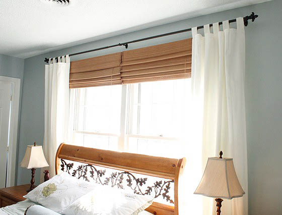 hanging curtains and no iron solution
