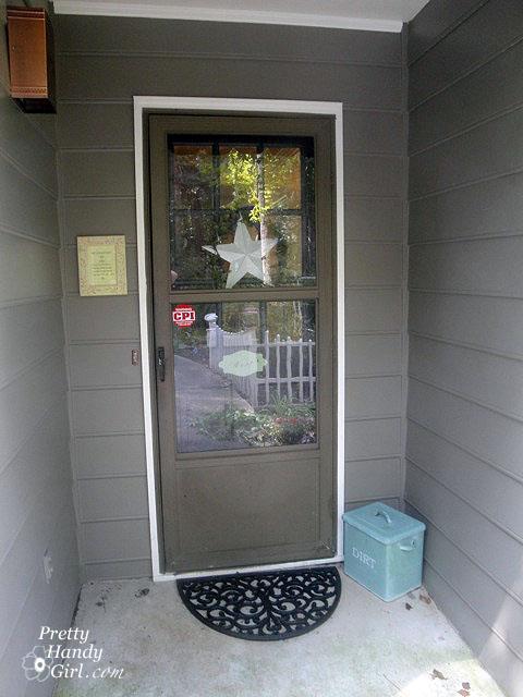 Spray Paint Aluminum Door Photos