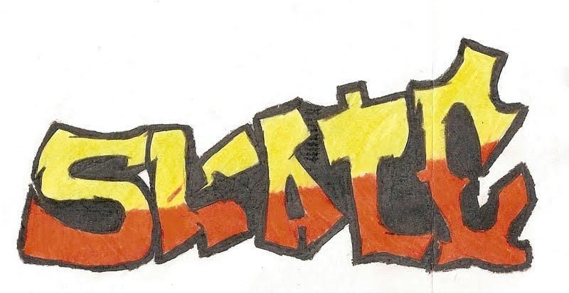 Desenho De Skate Para Imprimir: Pin Desenhos De Skatistas On Pinterest
