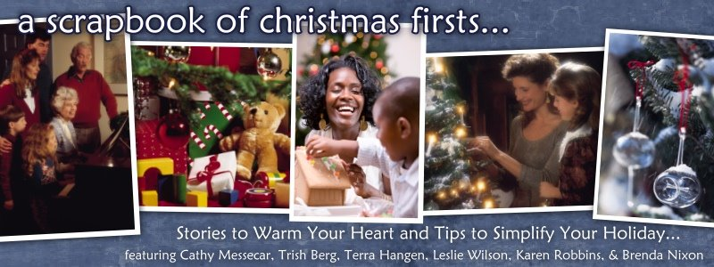 Scrapbook of Christmas Firsts