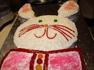 recettes dessert  Gâteau lapin de pâques