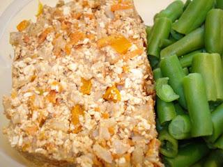 recettes  Tofu à la moutarde de Dijon