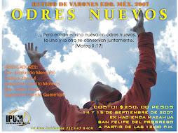RETIRO VARONES 2007