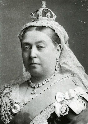 "Queen Victoria:  ""We are not amused."""