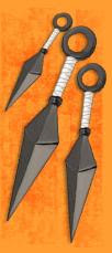 Fichas Ninja KUNAI+Naruto+Arma