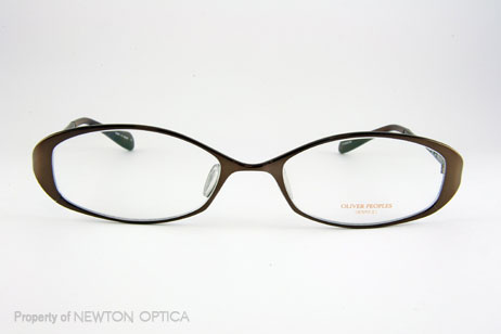348cf5d4c967 Oliver Peoples Carel in Brown. Titanium Frame.