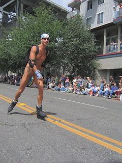 Rollerblading Gay 58