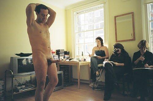 Naked women for art classes