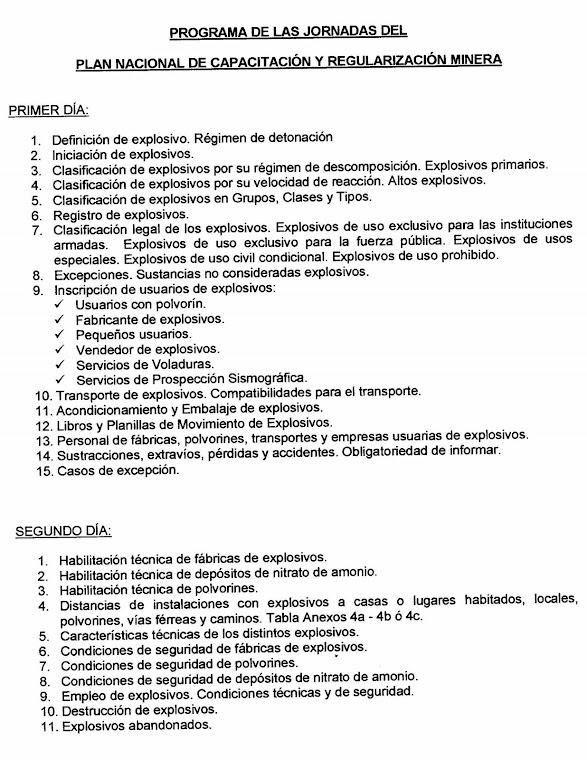 PLAN NACIONAL DE CAPACITACION