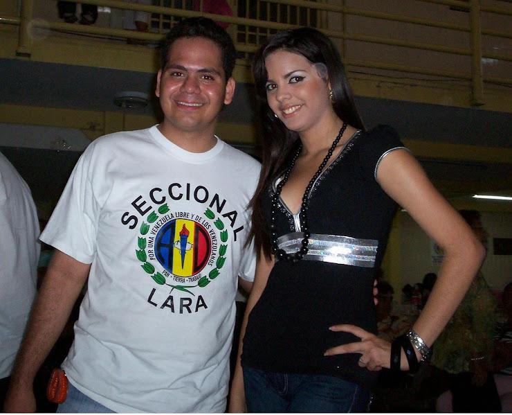 Yo con Maritzabi Ugas
